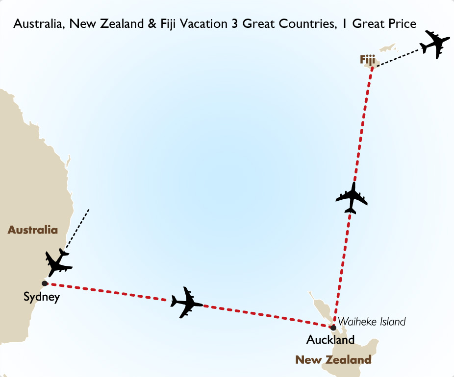 Goway Travel Australia New Zealand Amp Fiji Combo With