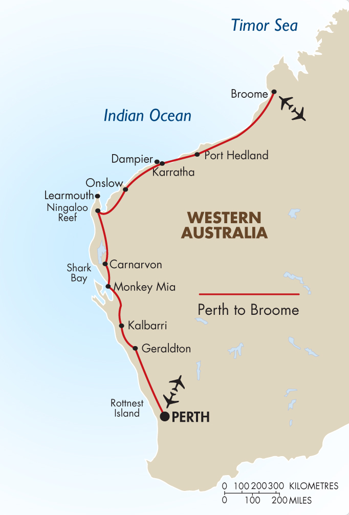 Perth To Broome Self Drive Australia Vacation Amp Tours