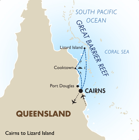 Australia South Pacific: Great Barrier Reef Cruise