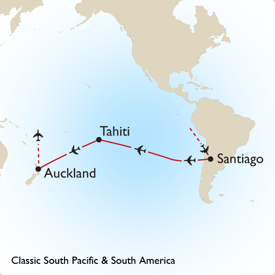 Australia South Pacific: Classic South Pacific & South America Tour