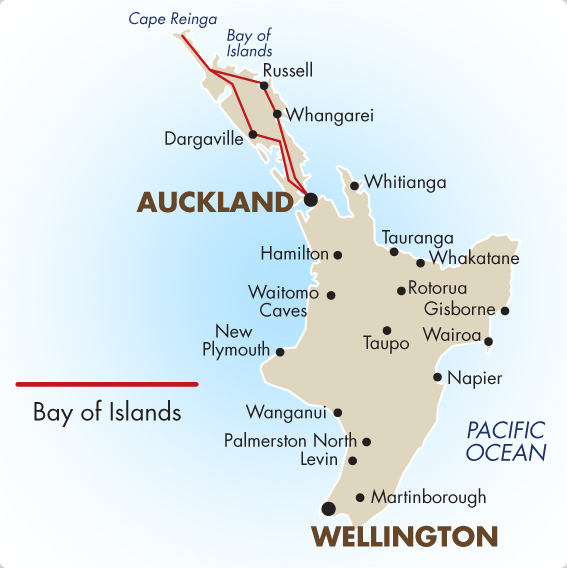 Day Bay Of Islands Tours From Auckland