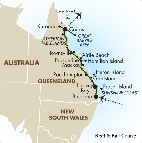 Day Tour Brisbane To Cairns