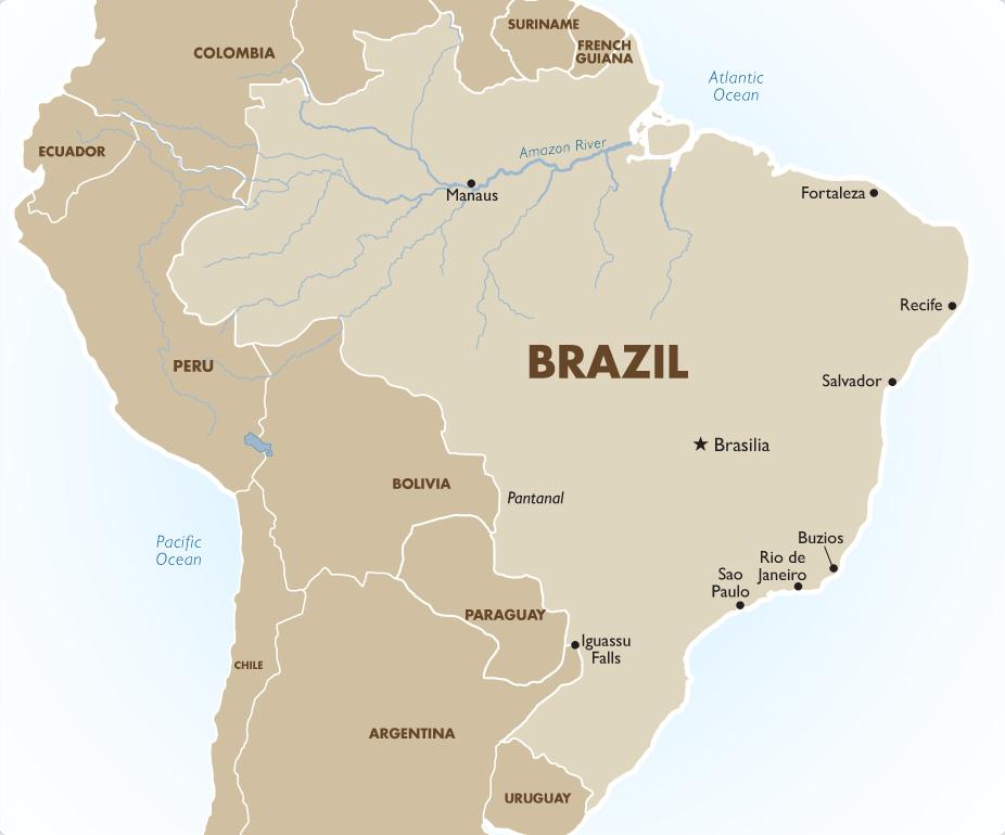 South America : Brazil   Your Travel Center   Member of