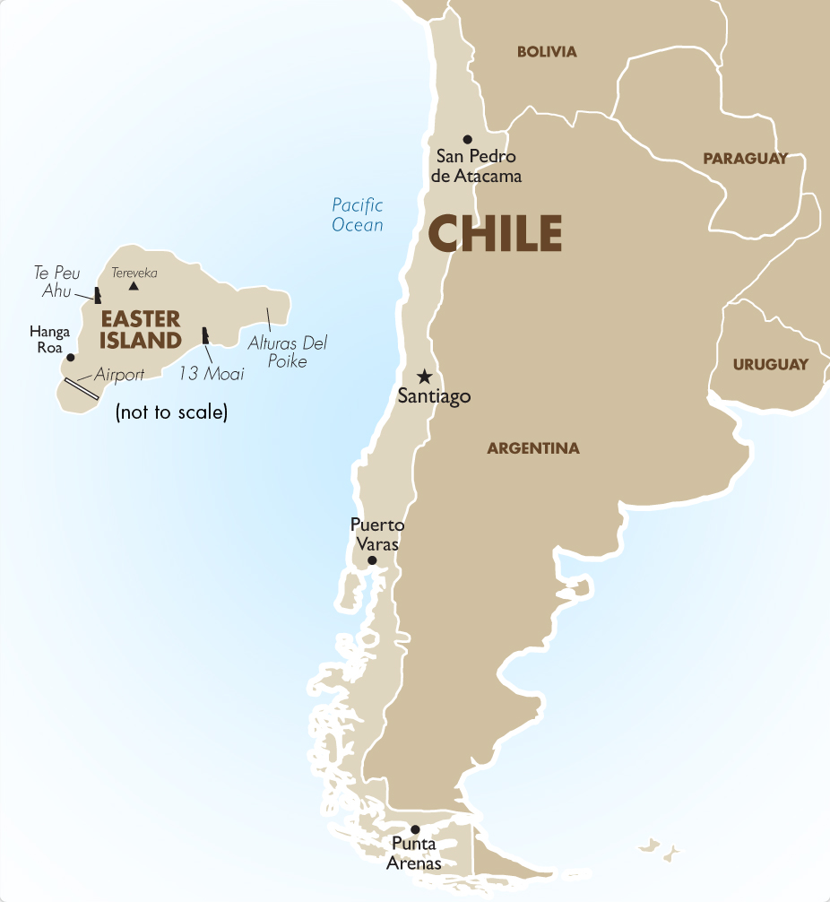 Chile Vacation Packages Tours Travel Deals Goway - Chile map