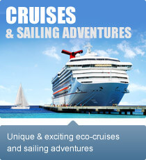 Unique and exciting eco-cruises and sailing adventures.